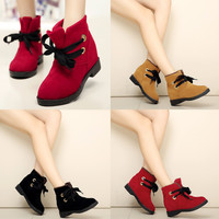 Womens Cute Classic Casual Dress Ankle Boots