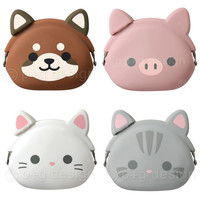 mimi POCHI Friends Vol. 3 Silicone Coin Purse - Animalful & Stylish Silicone Items by p+g design