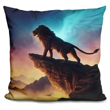 Mufasa Lion King Angel Pillow