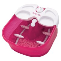 Beauty Chic Massaging Foot Spa - Pink/White