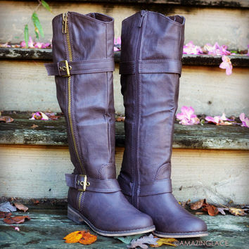 Saddle Creek Brown Boots