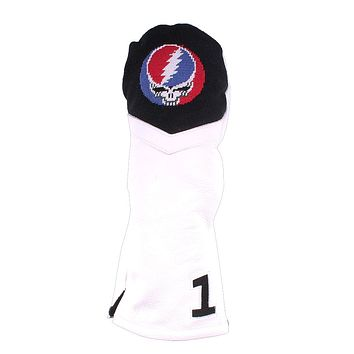 Steal Your Face Needlepoint Driver Headcover by Smathers & Branson