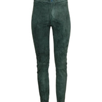 H&M Suede Pants $149