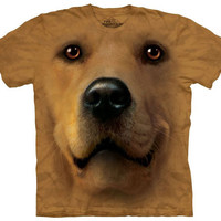The Green Head - Golden Retriever Dog T-Shirt