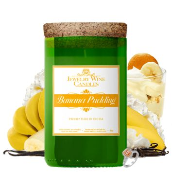 Banana Pudding | Jewelry Wine Candle®