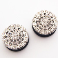Glamsquared — Ice Princess Plugs - Wedding Prom Formal