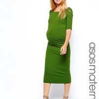 ASOS Maternity Exclusive Bardot Dress With Half Sleeve