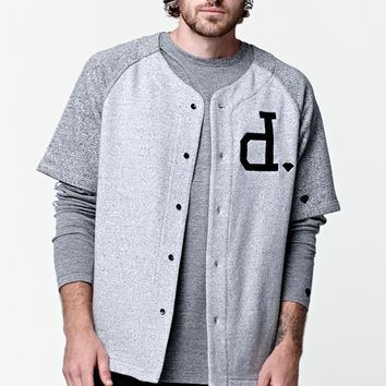 Diamond Supply Co Crown Terry Jersey - Mens Tee - Gray