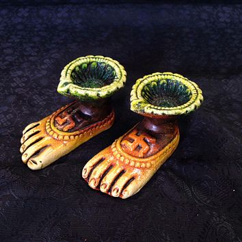 Terra-cotta Diya Set