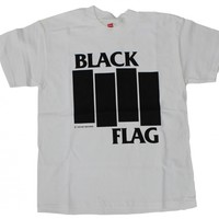 Black Flag - Bars & Logo T-Shirt | SST Superstore