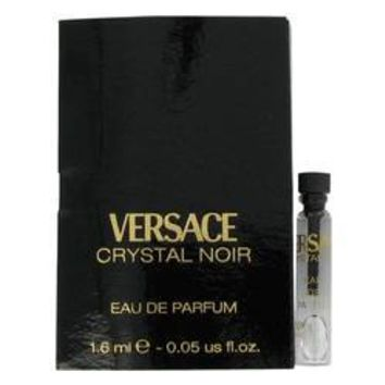 Crystal Noir Vial (sample) By Versace