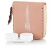 New York Skyline West 57th Contact Lens Case
