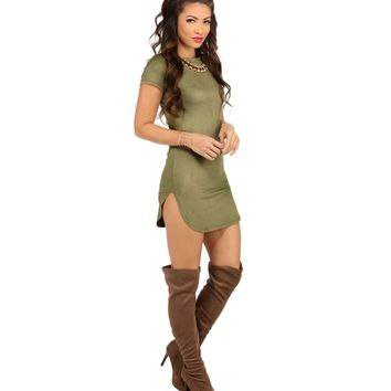 Olive On The Go Girl Tunic