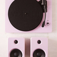 EP-33 Bluetooth Turntable With Speakers - Pinky Swear | Urban Outfitters