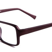 Ivanka Eyeglasses with Brown Acetate Aviator Full Frame/Rim Frame