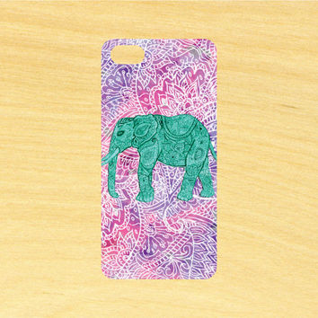 Elephant Art Version 2 iPhone 4/4S 5/5C 6/6+ and Samsung Galaxy S3/S4/S5 Phone Case