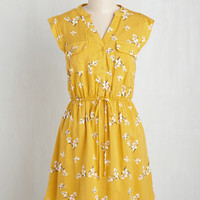 A Way With Woods Dress in Sunshine | Mod Retro Vintage Dresses | ModCloth.com
