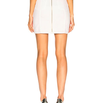 Adaptation Paneled Skirt in Flat White | FWRD