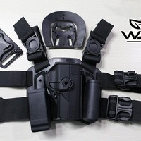 Top Quality Tactical Military Wargame CQC Style Beretta PX4 Pistol Holster Sets  gun holster free shipping