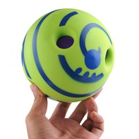 Wobble Wag Giggle Ball Dog Play Ball Trainer Balls with Funny Sound Keeps Dogs Happy All Day toy dog