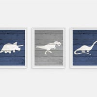 Dinosaur Art Prints, Dinosaur Wall Art, T-Rex Print, Dinosaur Prints, Tyrannosaurus, Kids Room Decor, Boys Room Art, Childrens Wall Art