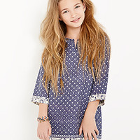 Abstract-Patterned Tunic Dress (Kids)