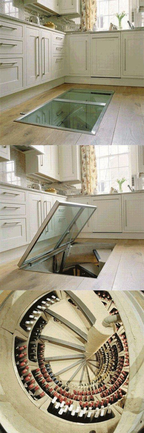 For the Home / Hidden Wine Cellar!