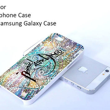iPhone 4 4s iPhone 5 5s 5c 6 6 plus and samsung galaxy s3 s4 s5 Case Panic At The Disco Lyric Quotes