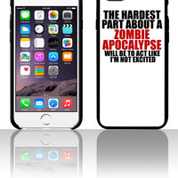 Zombie apocalypse for dark 5 5s 6 6plus phone cases