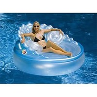 Seashell Sofa Pool Float Lounge