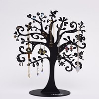 Jewelry Tree Stand Metal Jewelry Organizer Holder