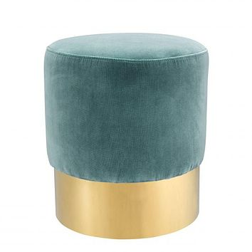 Deep Turquoise Stool | Eichholtz Pall Mall