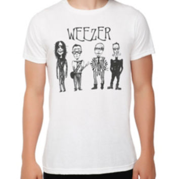 cb8f1a24 Weezer Cartoon Band T-Shirt from Hot Topic | Things I want as
