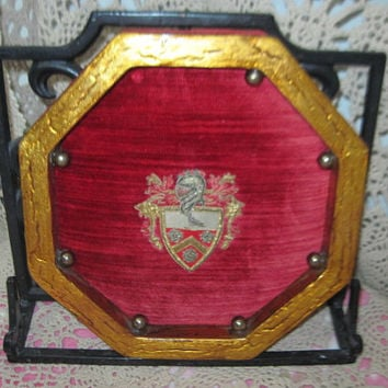 Family Crest  Wall Hanging August 10th 1965  :)