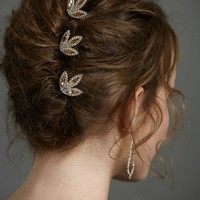 Frost-Kissed Hairpins Hair Adornments at BHLDN