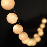 Hanging string light ball wedding display light indoor outdoor