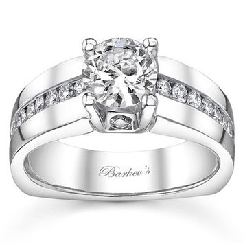 e2d9d2816 Barkev's Cathedral Channel Set Diamond Engagement Ring