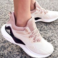Adidas AlphaBOUNCE Fashion Women Casual Sports Running Shoes Sneakers I/A