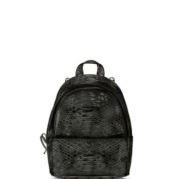 Luxe Python Mini City Backpack - Victoria's Secret
