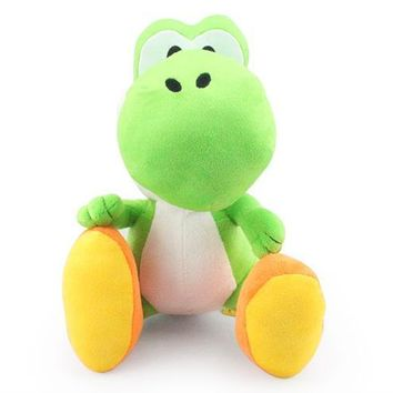 Super Mario party nes switch 11inch  bros Green Yoshi plush doll toys   AT_80_8