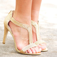 All That Glitters is Gold Heel | 7 Chics