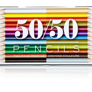 50/50 COLORED PENCILS