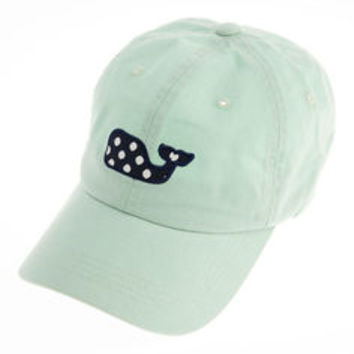 7dc79c0e902 Womens Hats  Polka Dot Whale Baseball Hat from vineyard vines