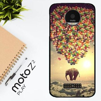 Elephant And Balloon V1482 Motorola Moto Z2 Play Case