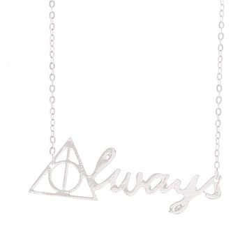 "Harry Potter ""Always"" Pendant Necklace"