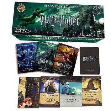 408 PCS/SET Harry Potter English Edition Playing Game Cards