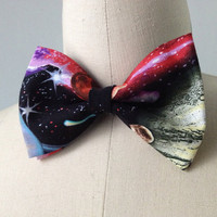Pre-Tied Galaxy Bowtie, gift for men