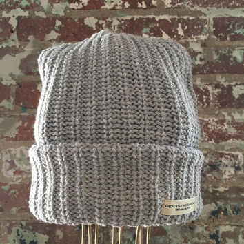 Genuine Workwear Knit Hat, Grey