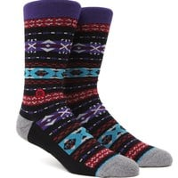 Stance Villa Crew Socks - Mens Socks - Black - One