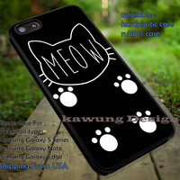 Cat Meow Style iPhone 6s 6 6s+ 6plus Cases Samsung Galaxy s5 s6 Edge+ NOTE 5 4 3 #art ii